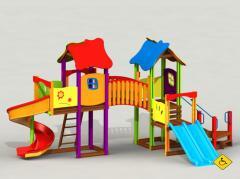 Игровой комплекс модель К37   Игровые комплексы