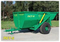 Semi-trailer dumping PST-6