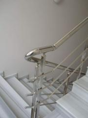 Handrail is corrosion-proof