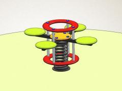 Качалка на пружине модель А02-4  Детская качалка