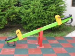 Качели модель В01. Качеля -балансир, колыбель.