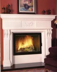 Portal for fireplaces of SERI MERMER KLS 002