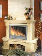 Fireplace marble 15