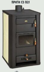 Furnaces wood PRITY C3 B21