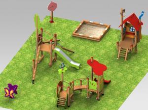 Площадки 3D модели  Детям от 2 до 5 лет   Тип