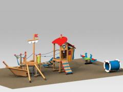 Platforms of a 3D model to Children from 2 to 5