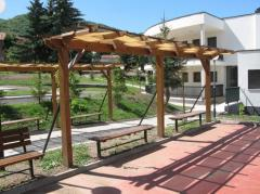 Pergolas Landscape gardening furniture of the