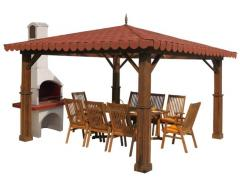 Canopies for a barbecue