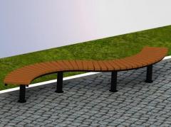 Скамья Модель П17
