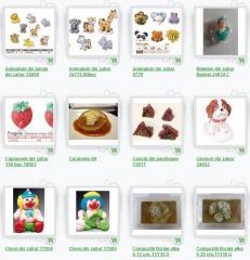 Decoratiuni pentru produse de patiserie