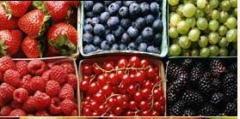 Свеже - замороженные фрукты,ягоды.