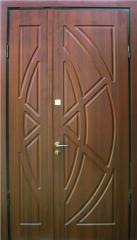 Drzwi stalowe ocieplane