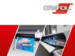 Inkjet printing on the basis of the ORAFOL