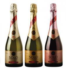 Вино газированное премиум-класса SOLO