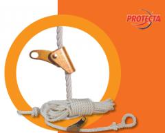 Системы безопасности на гибкой анкерной линии