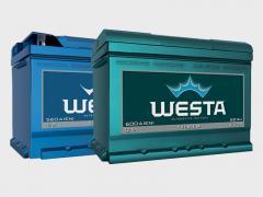 Аккумуляторы Westa