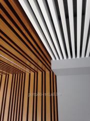 Rack aluminum ceilings