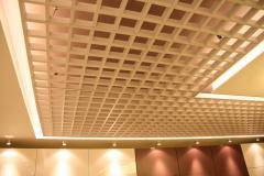 False ceilings with internal illumination