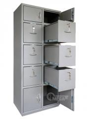 Safes office Case card-index / archival