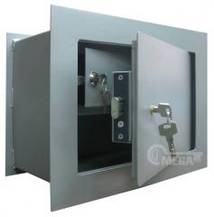 Safes wall ShMSK — wall / built in with cash desk