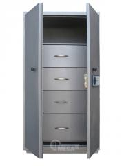 Safes electronic Case card-index / archival