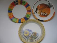 Paper plates for parties