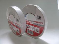 Double-sided white foam tape