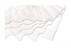 Sheets polycarbonate corrugated SUNTUF Plus