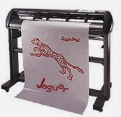 The plotter the cutting Jaguar III