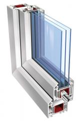 Double-glazed windows are single-chamber