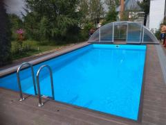 Pools from polypropylene