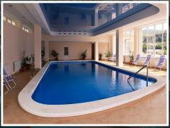 Oval swimming pools