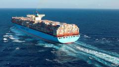 Sea container transportations
