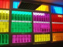 Festett  üveg filmek