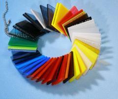 Värilliset pleksilasit