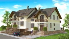 Houses are energy saving