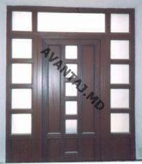 Двери из красного дерева, арт. 2