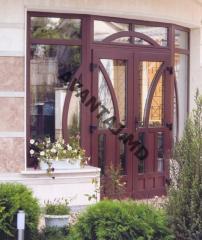 Двери из красного дерева, арт. 3