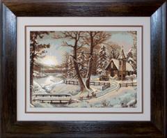 Gobelin Landscape of G321 Peisaj de iarna