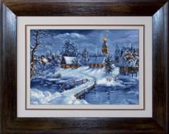 Gobelin Landscapes of G447 Peisaj de iarna