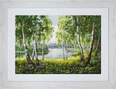 Gobelin Landscape of G526 Native Birchesin the