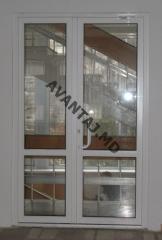 Дверь из ПВХ, арт.3