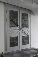 Classical door of MDF, art. 26