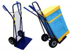 Carts for transportation of beehives, barrels.