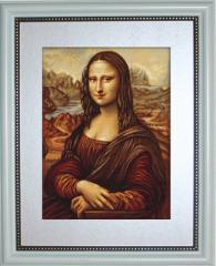 Embroidery cross of B416 Mona Lisa Cross stitch