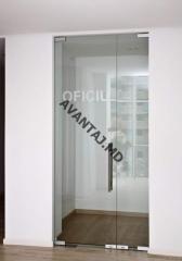 Drzwi szklane międzypokojowe