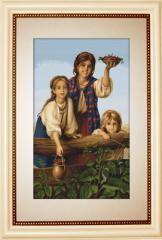 Embroidery cross of B489 Cumparati fructe de