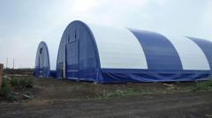 Hangars frameworks pavilions