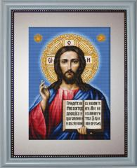 Embroidery cross of B417 The Savior Cross stitch