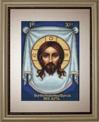 Embroidery cross of B420 Holy Face of Jesus Cross